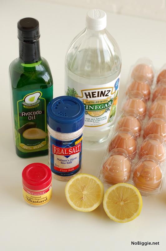 How to make homemade mayo | NoBiggie.net