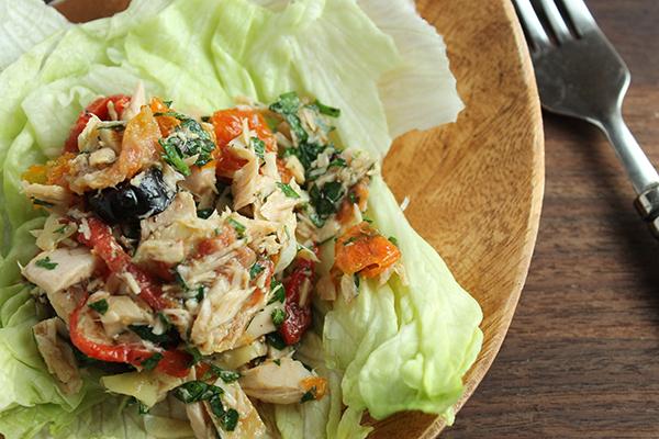 Mediterranean Tuna Salad | 25+ gluten free and dairy free lunch ideas
