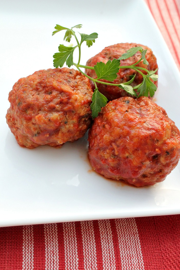 Mini Meatballs | 25+ gluten free and dairy free lunch ideas
