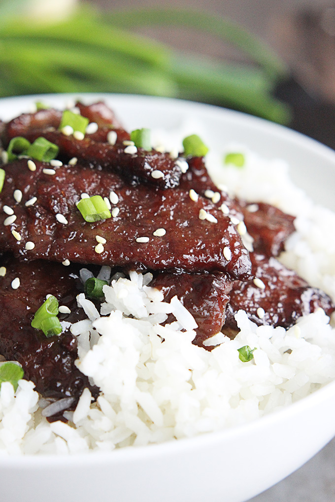 Mongolian Beef | 25+ gluten and dairy free recipes
