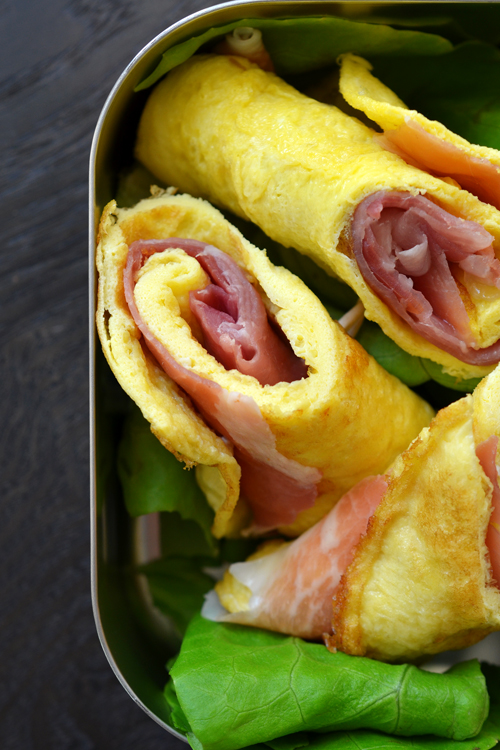 Prosciutto and Egg Roll-Ups | 25+ gluten free and dairy free lunch ...