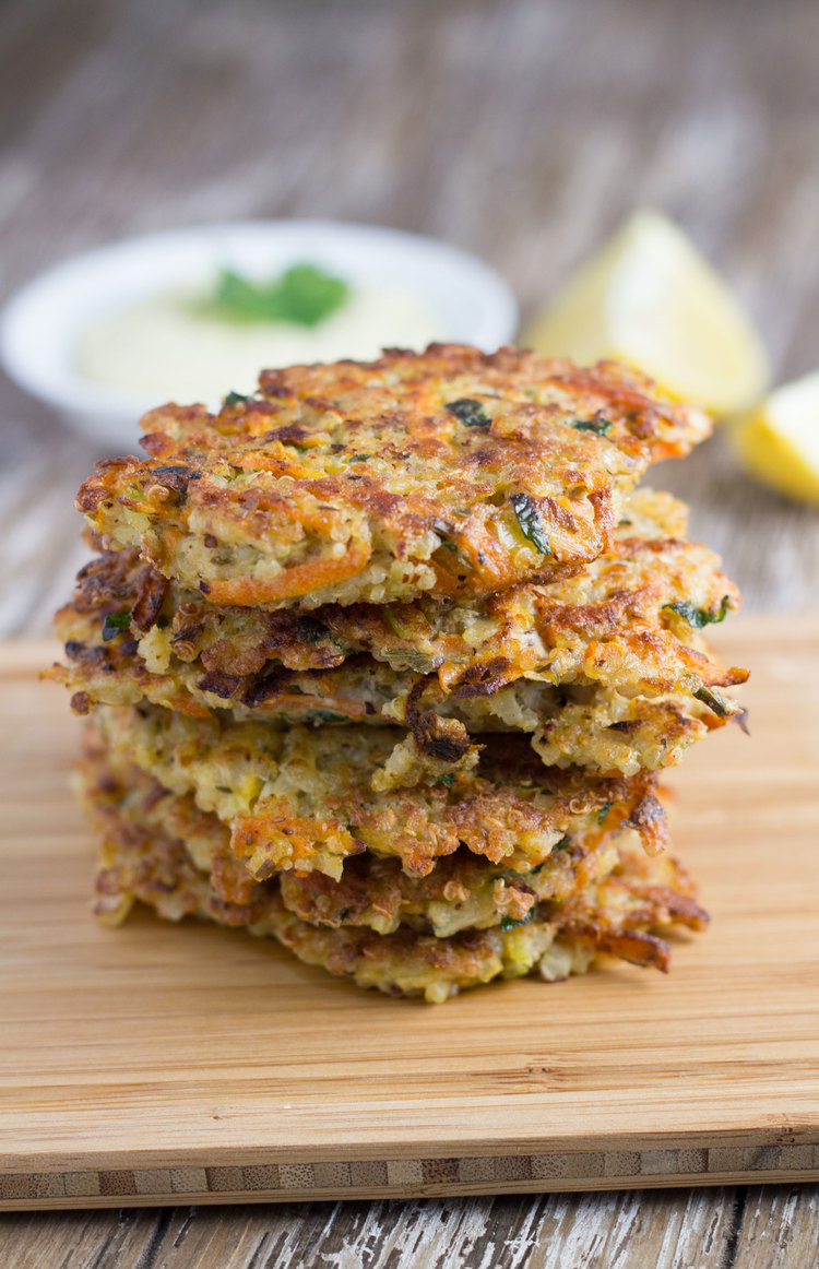 Quinoa Fritters | 25+ gluten free and dairy free lunch ideas
