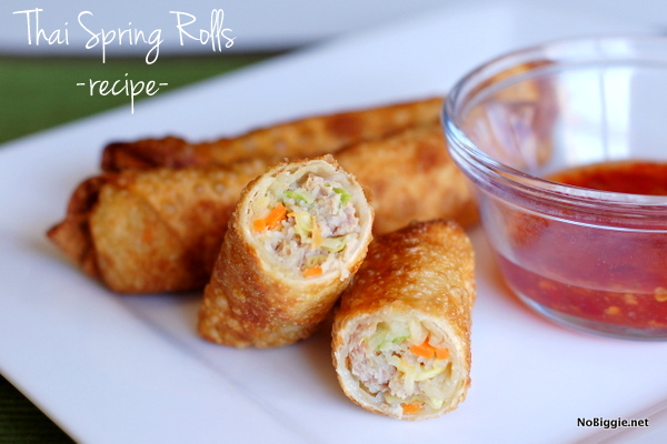 Thai Spring Rolls | 25+ gluten free and dairy free lunch ideas