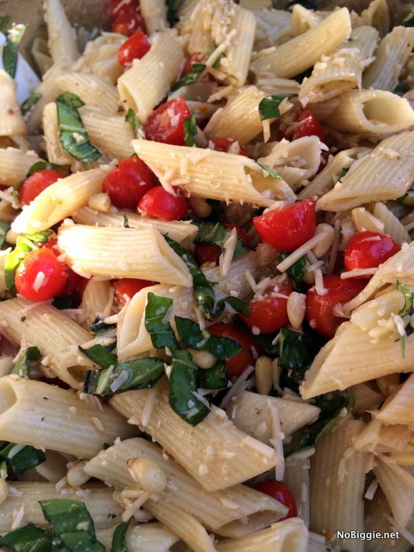 caprese Pasta Salad | NoBiggie.net