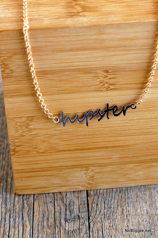 hipster made with the #Cricut_Explore | NoBiggie.net
