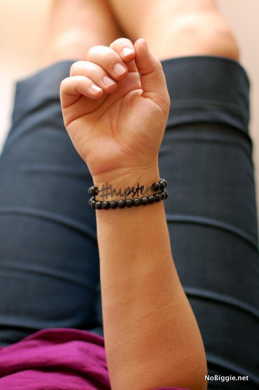 hipster wrap bracelet made with the #Cricut_Explore | NoBiggie.net