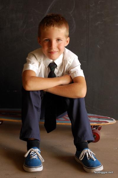 my boy - back to school photos | NoBiggie.net
