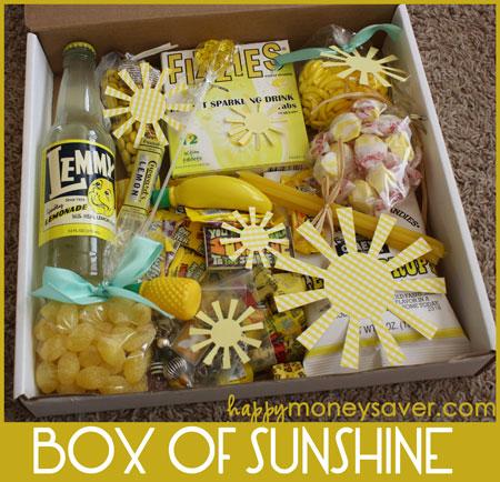 Box of Sunshine | 25+ lemon ideas