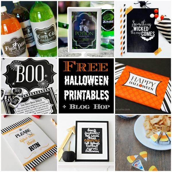 Free Halloween Printables | NoBiggie.net