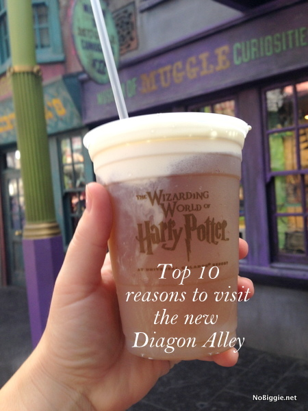Frozen Butter Beer Universal Orlando Family Forward | NoBiggie.net