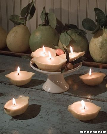 Lemon Candles | 25+ lemon ideas