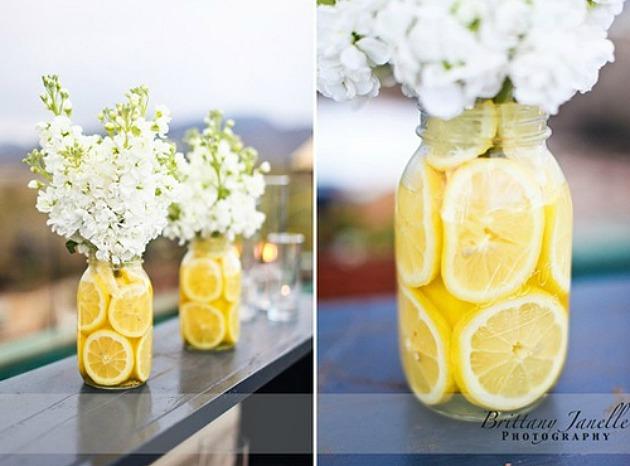 Lemon Centerpieces | 25+ lemon ideas