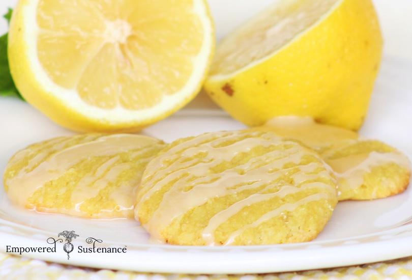 Paleo Lemon Cookies | 25+ lemon recipes