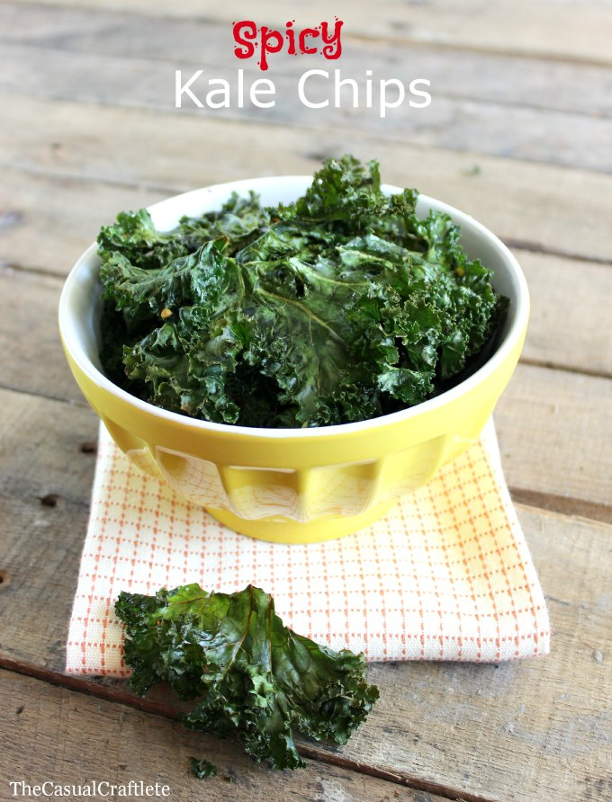 Spicy kale chips | 25+ gluten free and dairy free snack ideas