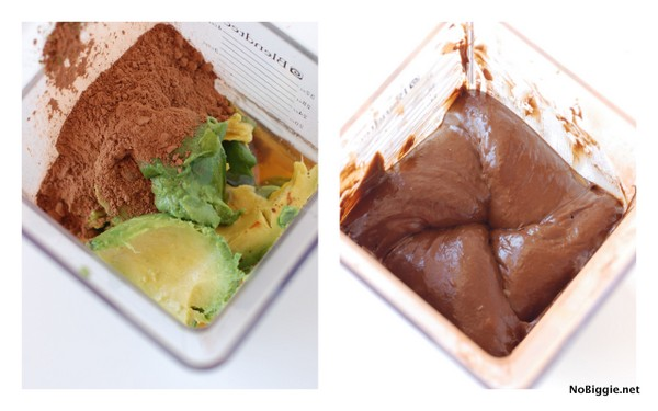 how to make chocolate avocado pudding | NoBiggie.net