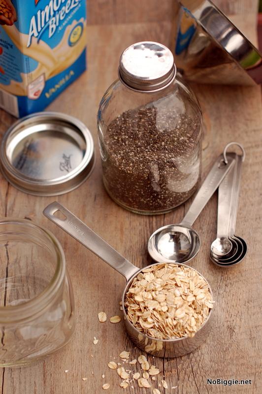 ingredients for overnight oats | NoBiggie.net