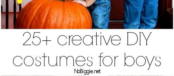 25+ creative diy costumes for boys | NoBiggie.net