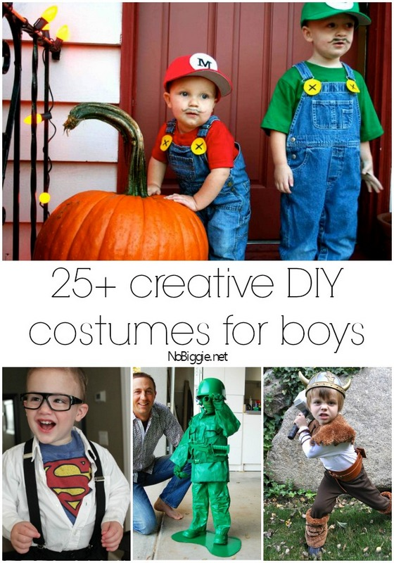 25+ creative diy costumes for boys | NoBiggie.net