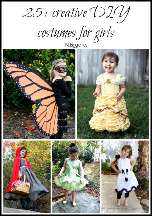 25+ creative diy costumes for girls via NoBiggie.net