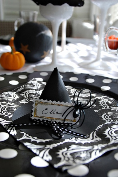 black and white halloween plus more halloween party ideas - Black And White Halloween Party