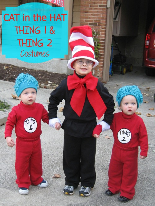 25 creative diy costumes for boys cat in the hat and thing 1 and thing 2 costumes 25 creative diy solutioingenieria Images