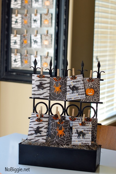 Countdown to halloween | MORE halloween party ideas