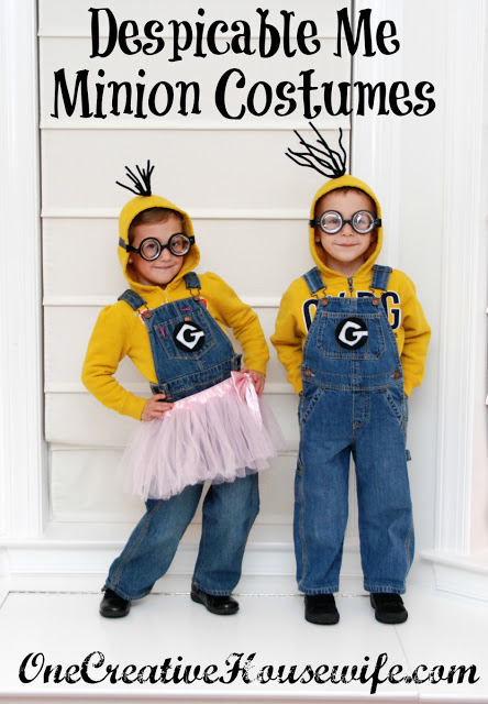 Despicable Me minion costumes | 25+ creative DIY costumes for boys