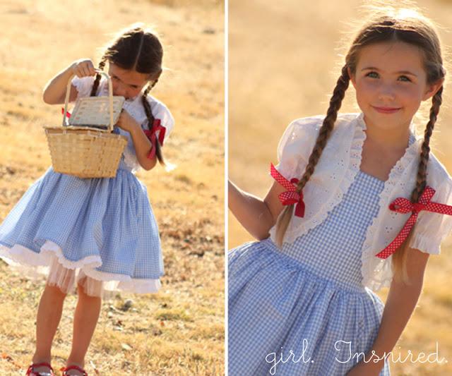 Dorothy dress   25+ Halloween costumes for girls