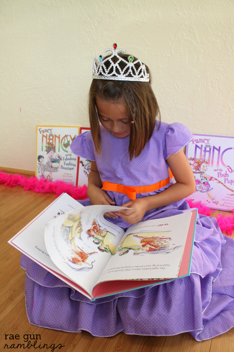 Fancy Nancy dress   25+ Halloween costumes for girls