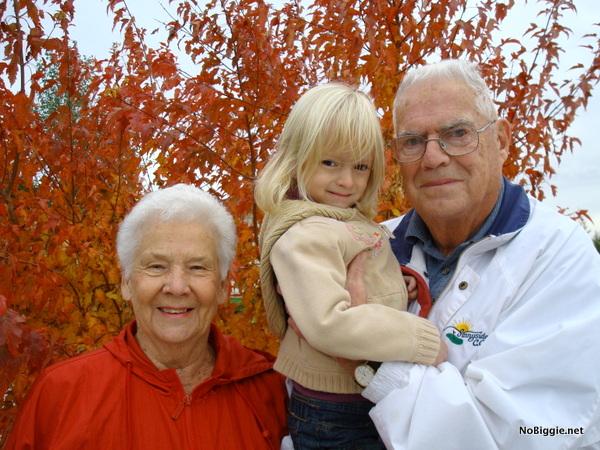 Grandpa and Grandma with Avery | NoBiggie.net