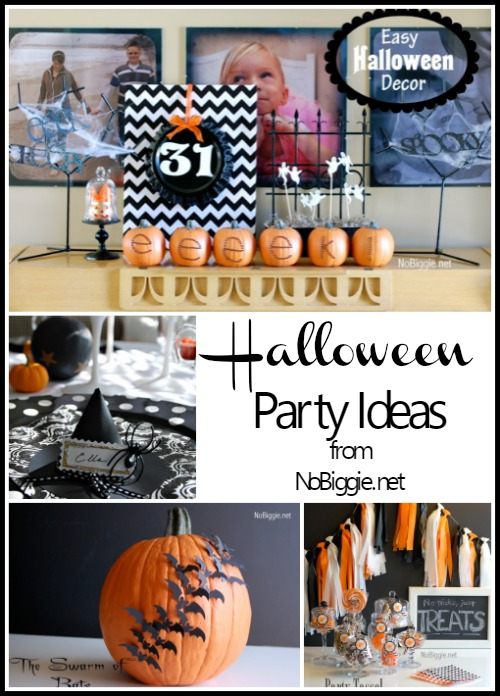 Halloween Party Ideas via NoBiggie.net