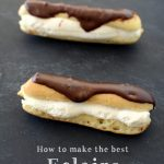 How to make the best chocolate eclairs | NoBiggie.net