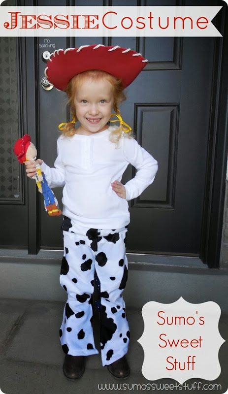 25 creative diy costumes for girls jessie from toy story 25 halloween costumes for girls solutioingenieria Images