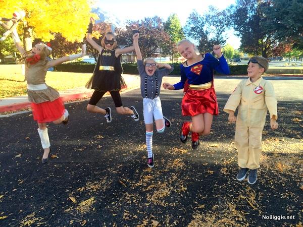 Jump for Halloween Joy  | NoBiggie.net