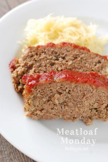 Meatloaf Monday
