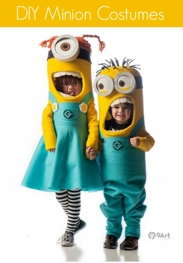 Minions   25+ Halloween costumes for girls