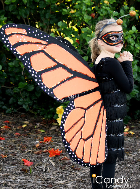 Monarch Butterfly   25+ Halloween costumes for girls