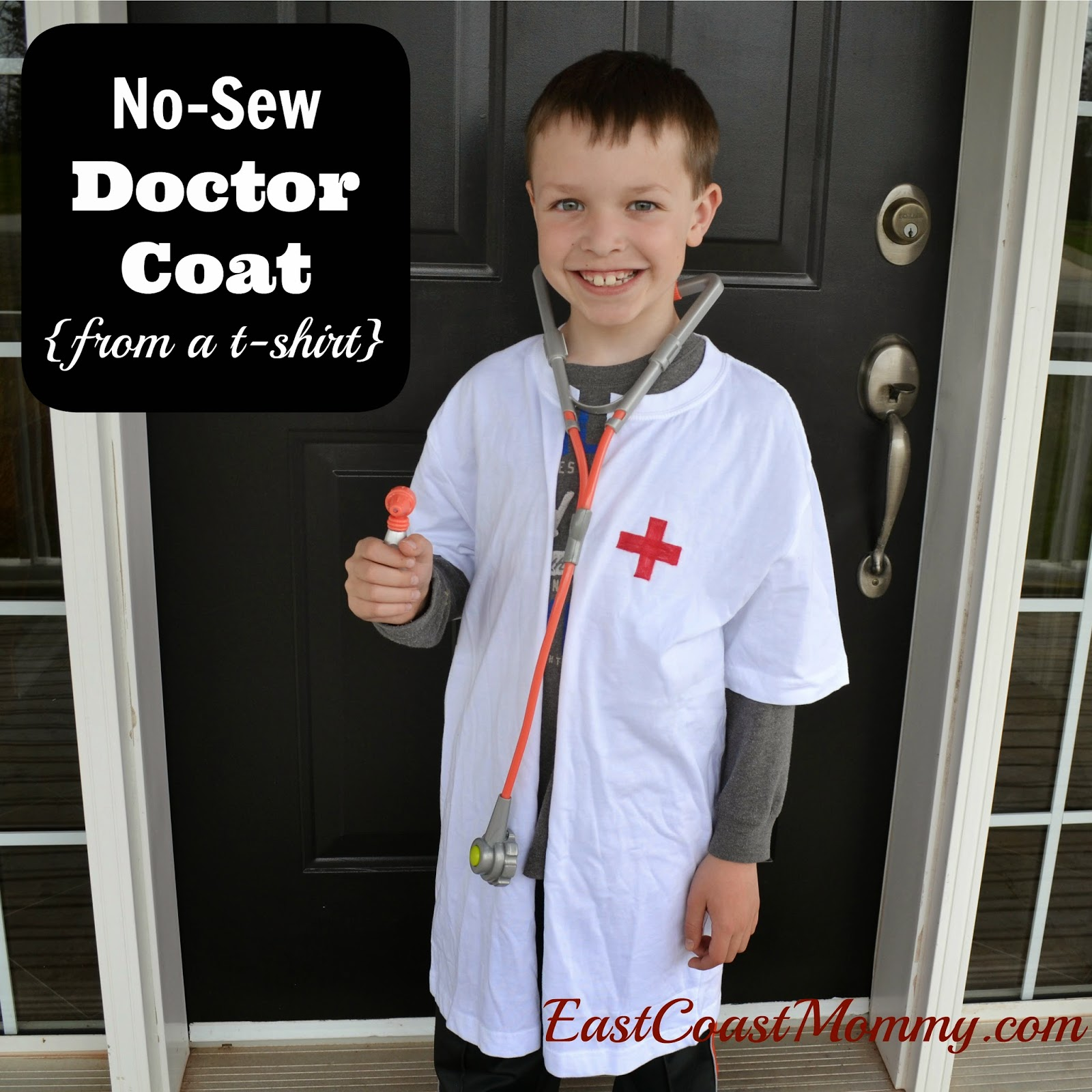 No sew doctor coat | 25+ creative diy costumes for boys