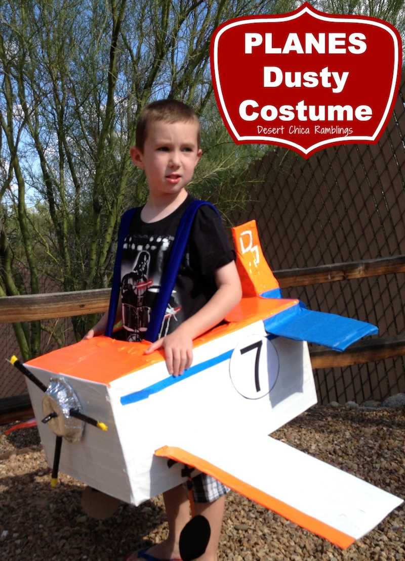 PLANES Dusty costume | 25+ creative diy costumes for boys