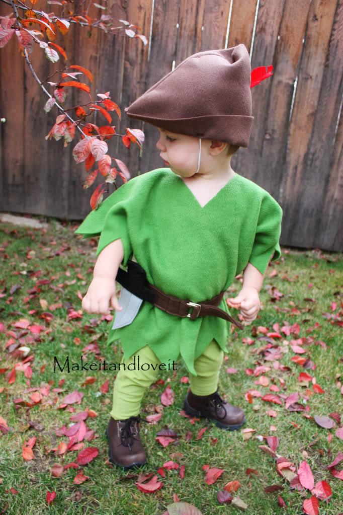 Peter Pan costume | 25+ creative DIY costumes for boys