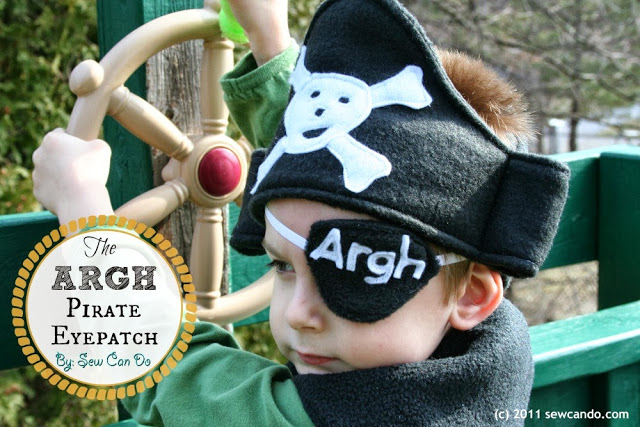 Pint sized pirate | 25+ creative DIY costumes for boys