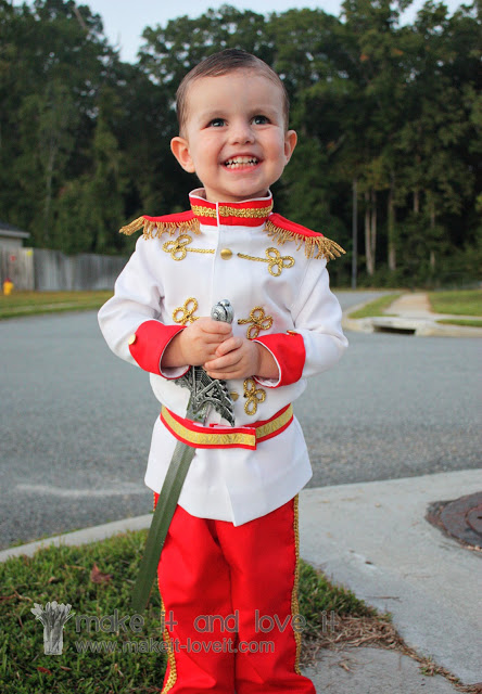 Prince Charming costume | 25+ creative diy costumes for boys