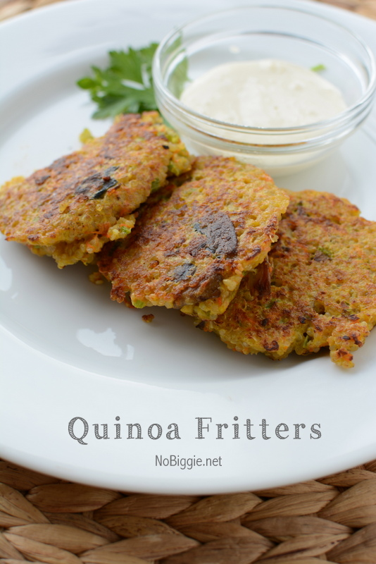 Quinoa Fritters