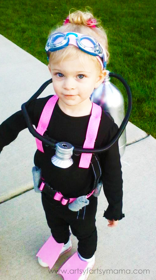 Scuba diver   25+ Halloween costumes for girls
