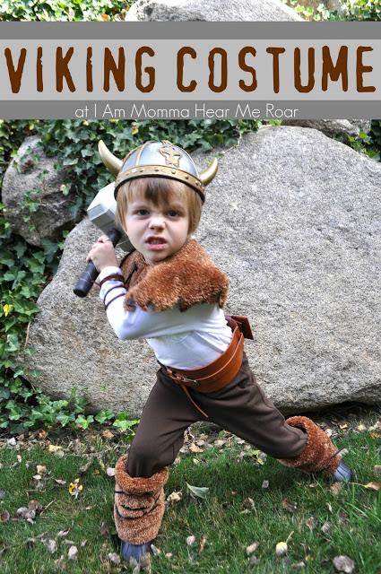 Viking costume | 25+ creative DIY costumes for boys