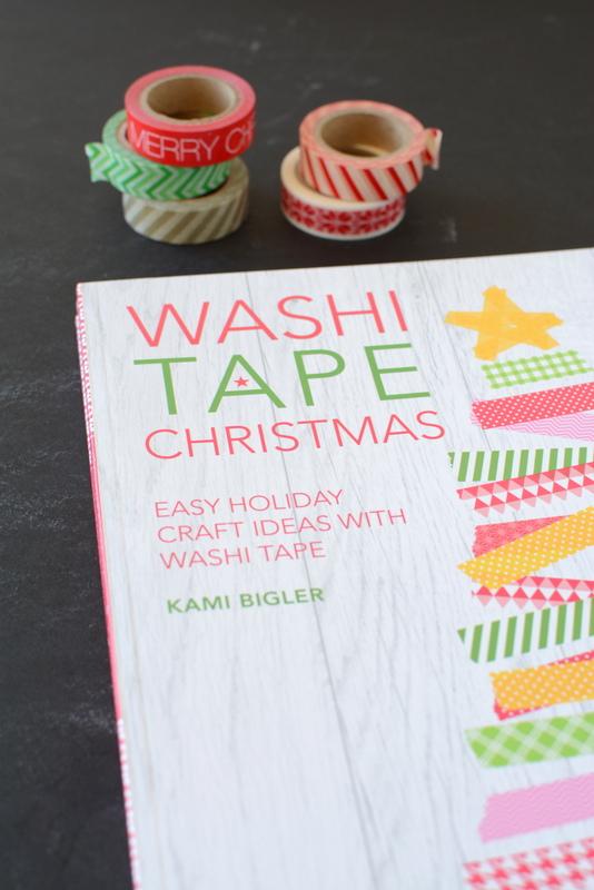 Washi Tape Christmas | by Kami Bigler | NoBiggie.net