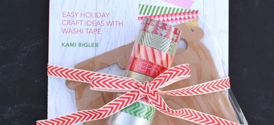 Washi Tape Christmas gift set