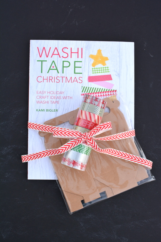 Washi Tape Christmas gift set