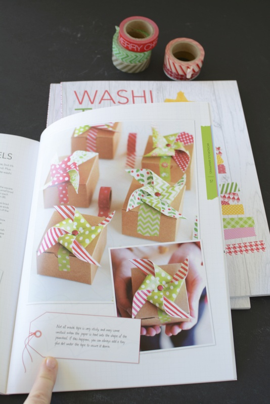 Washi Tape Christmas projects from the book | NoBiggie.net