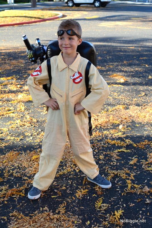 ghostbuster boy costume | NoBiggie.net